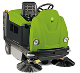 "Genius TK1200 IPC Eagle HYBRID 48"" Dual Power Unleaded Gas / Battery Powered  Vacuum Sweeper 519"