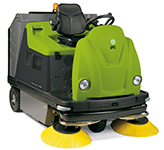 "Genius TK1404 IPC Eagle HYBRID 58"" Dual Power Unleaded Gas / Battery Powered Vacuum Sweeper 329"