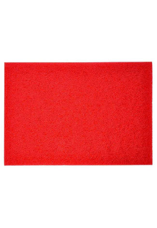 RD1420 Powr-Flite Red Spray Buff Pad RD1420