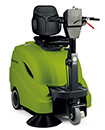 "IPC EAGLE TK512R 28"" Battery Ride On Sweeper 430"
