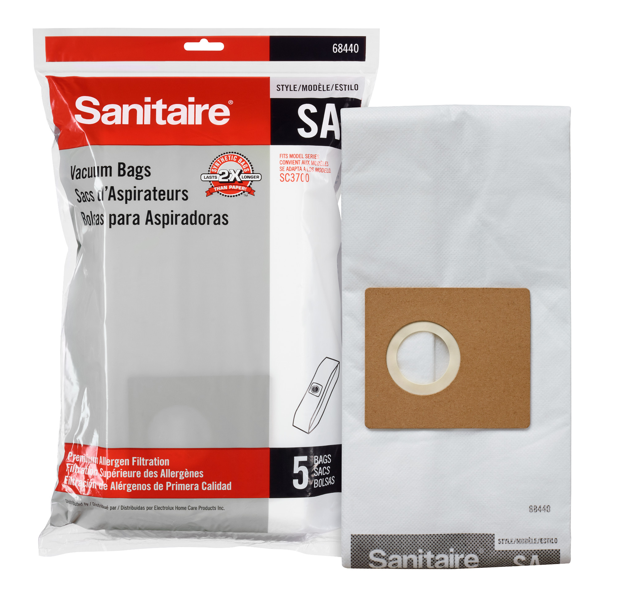 "68440-10  Disposable Dust Bags Style "" SA"" 68440-10"