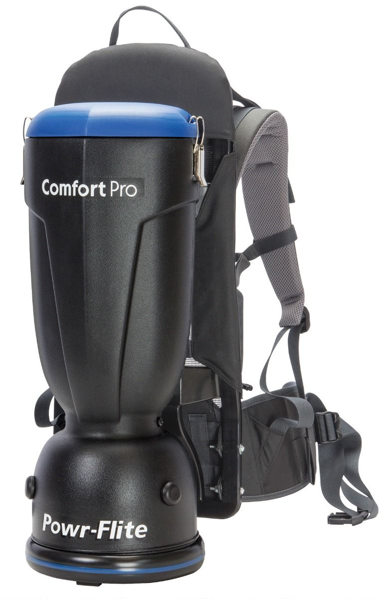 BP6S Power-Flite 6 qt. Comfort Pro Backpack Vacuum W/ Standard Tool Kit BP6S