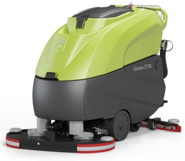 "Cleantime CT100BT85 IPC Eagle Power Traction Drive Battery Powered 32"" Automatic Scrubber 427"