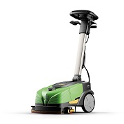 CT15 ECS IPC Eagle Green Cleaning Battery Powered Walk Behind Auto-Scrubber