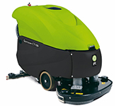 "Cleantime CT100BT70 IPC Eagle Power Traction Drive Battery Powered 28"" Automatic Scrubber 426"