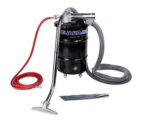 "N301BC GuardAir 30 Gallon Pneumatic B VENTURI W 2"" Vac Hose & Tools   N301BC"