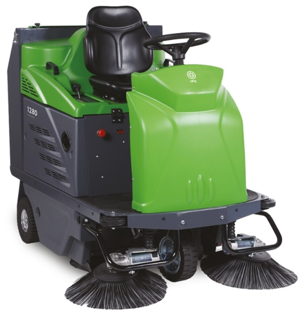"TK1280E IPC Eagle 48"" Ride On Sweeper Battery Powered TK1280E"