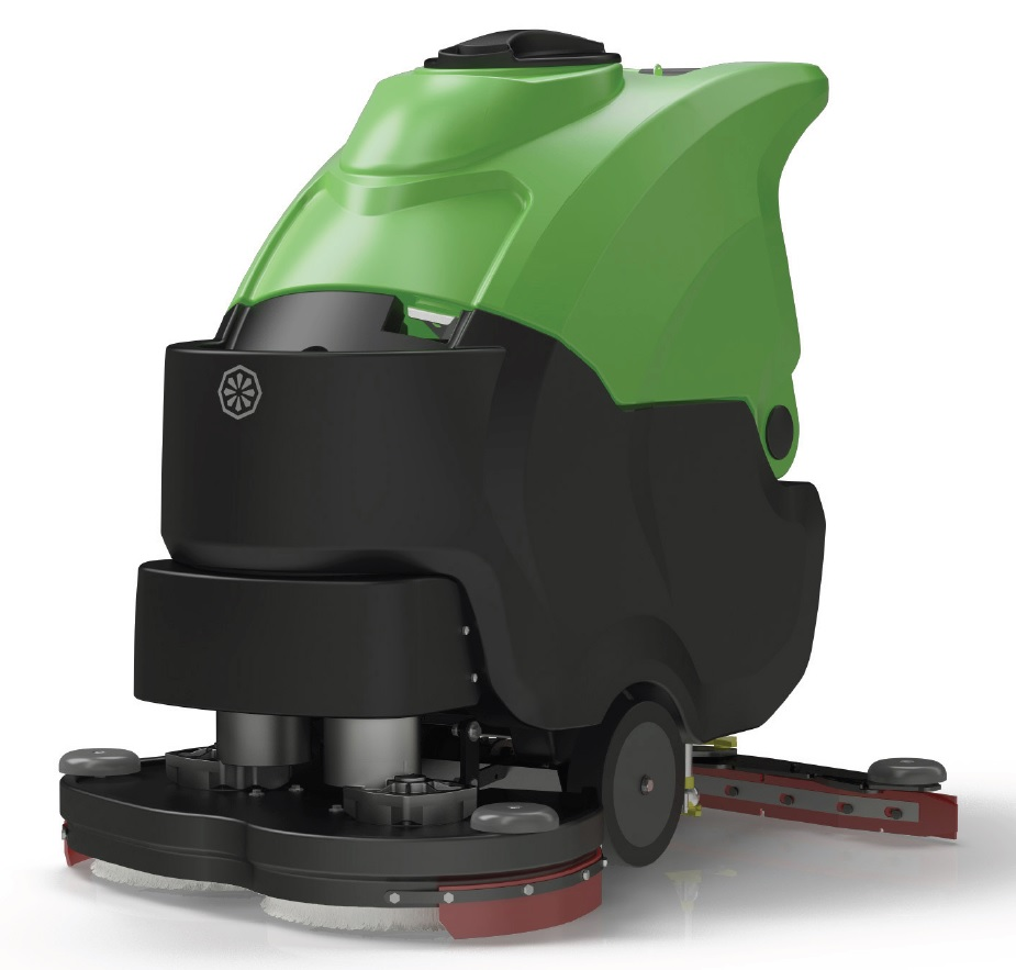 "Cleantime CT70BT60 IPC Eagle Power 24"" TRACTION DRIVE Battery Powered Automatic Scrubber 334"