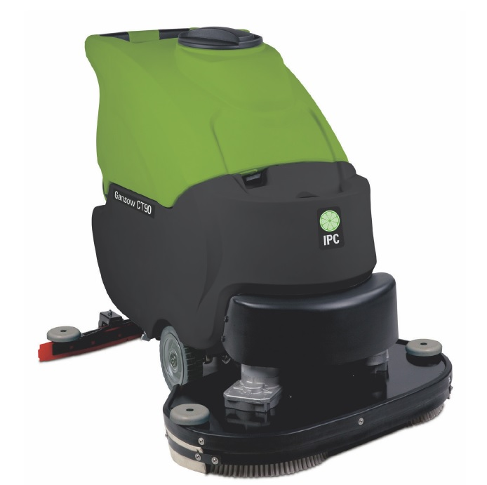 "Cleantime CT90BT70 IPC Eagle Power 28"" TRACTION DRIVE Battery Powered Automatic Scrubber 381"