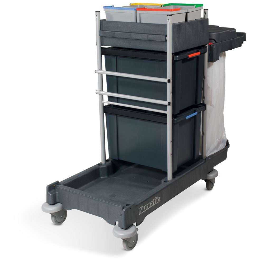 NPT1606 NaceCare Janitorial Cart