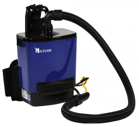 RSV 200MF-HEPA AOXB NACECARE BackPack Vacuum HEPA Filtration System 228
