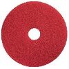"Genuine Sanitaire Red 14"" Buffing Pad - 5 per case Genuine1"