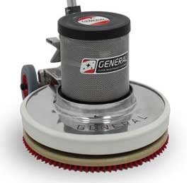 "GVS-19 GENERAL FloorCraft 19"" Floor Machine 160~330-RPM Variable Speed 213"