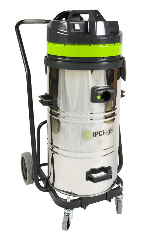 S6415DS IPC Eagle Power Industrial Wet/Dry Vacuum With Automatic Discharge