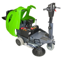 "512R IPC Eagle 28"" Battery Ride On Sweeper"
