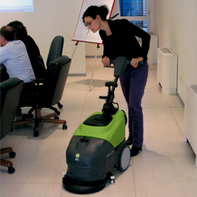 CT15E35 14 Inch Electric Walk Behind Auto Scrubber