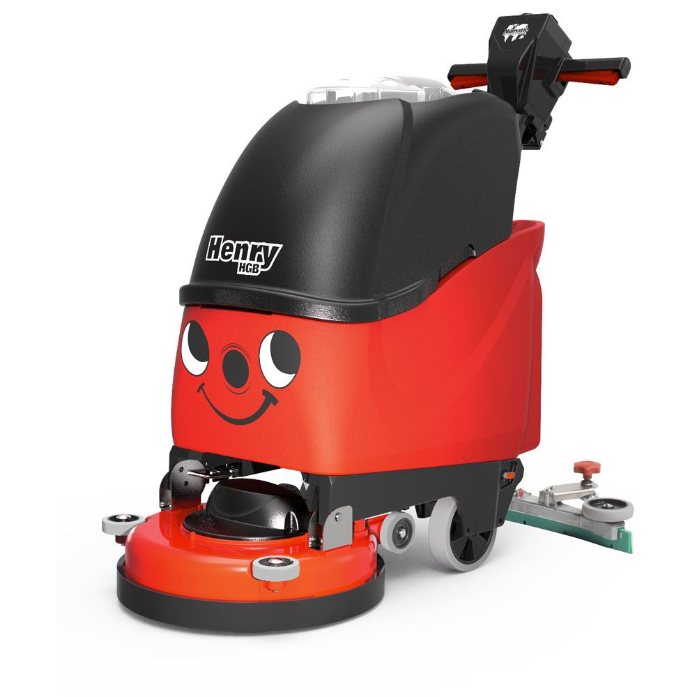 "HGB 817 NACECARE Twintec 17"" Auto Scrubber Battery Powered"