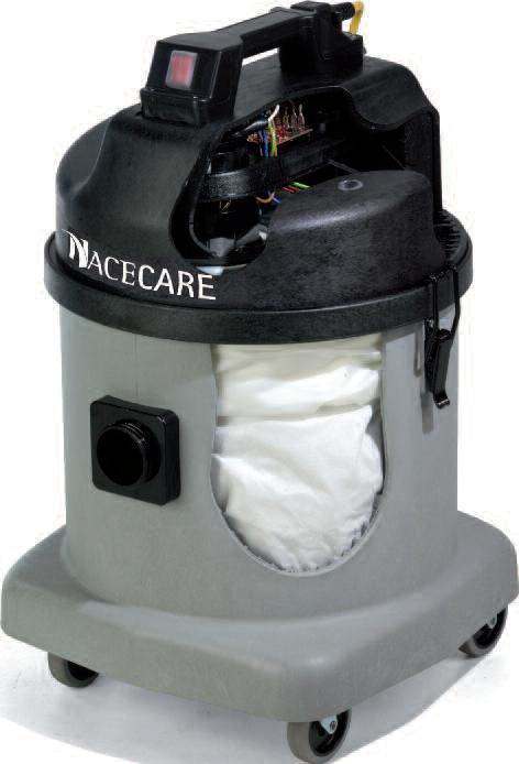 NDS 570-B2 NaceCare Fine Dust Canister Vacuum
