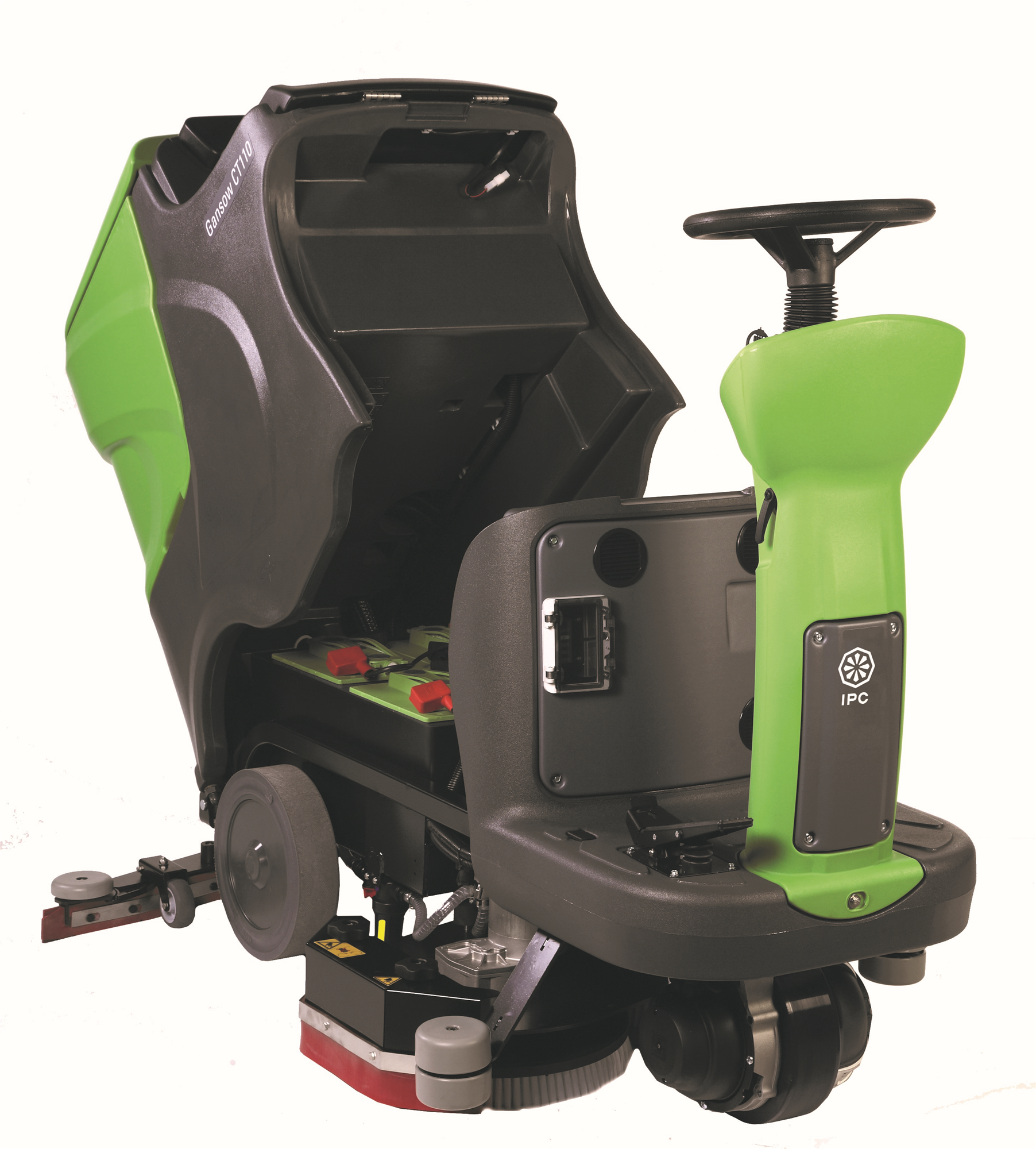 "CT110BT70 IPC Eagle Power, 28"" Ride On Automatic Scrubber, Battery Powered."