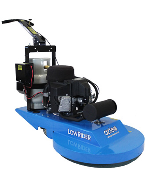 "070-24-LR Aztec 24"" Low Rider Propane Burnisher"