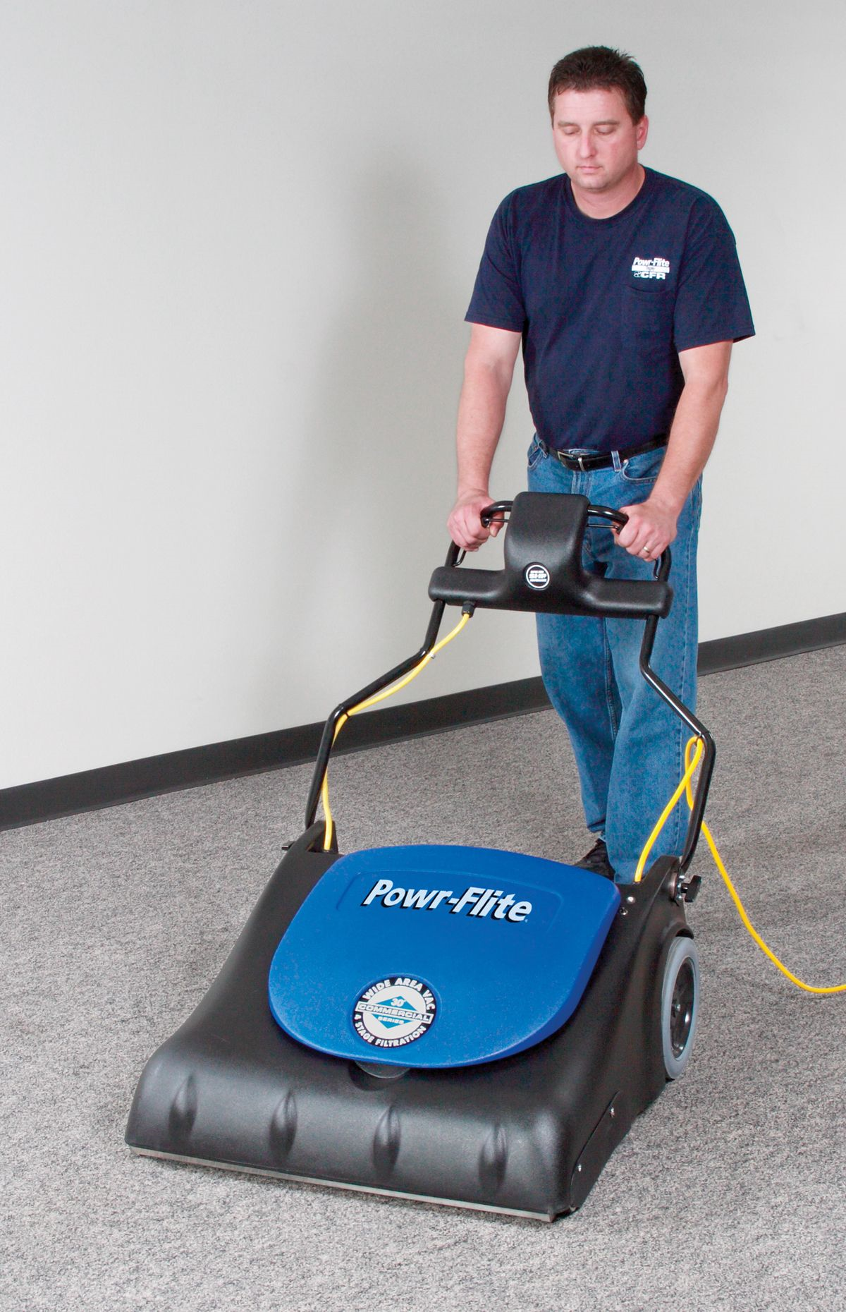 "PF2030 Powr-Flite 30"" Wide Area Vacuum Sweeper"