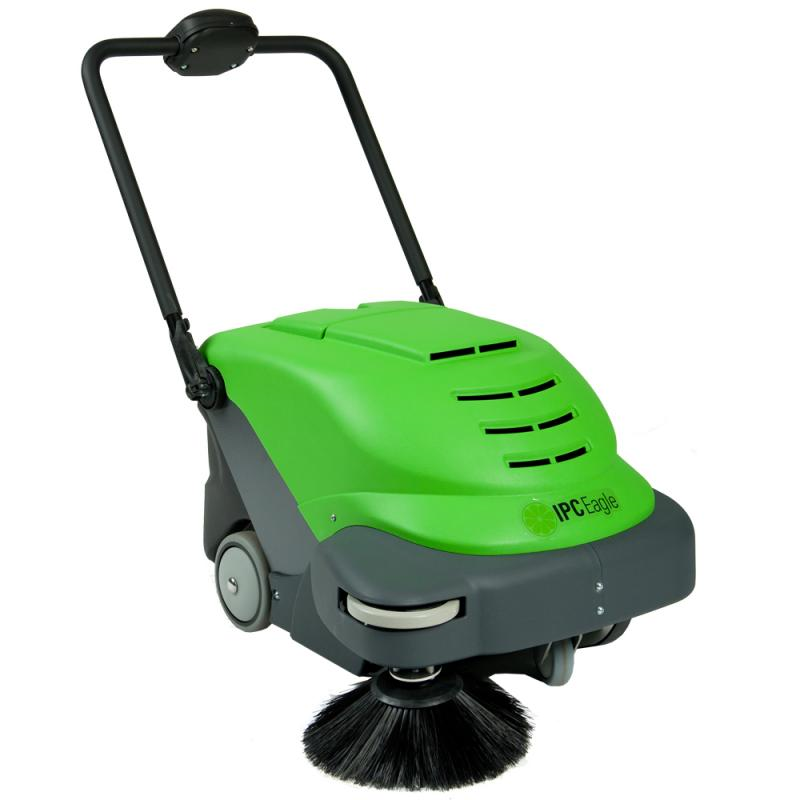 "TK464E IPC Eagle 24"" vacuum sweeper cordless with on-board charger and battery"