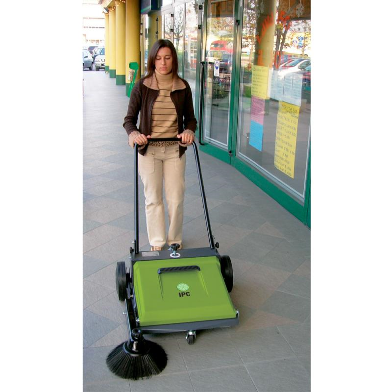 tk510m ipc manual sweeper outdoor use