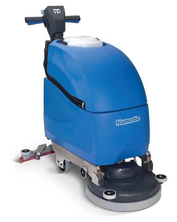 Electric Automatic Scrubber